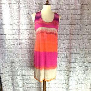 Cynthia Rowley Tie Die Dress Size Large